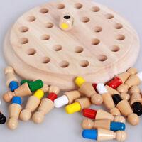 Kinder Holz Memory Match Stick Schachspiel Eltern-Pädagogisches Puzzle Spielzeug