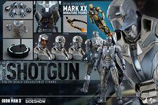 Hot Toys Iron Man 3 SHOTGUN MARK XL Armor 1:6 MMS309 Figure Movie Masterpiece