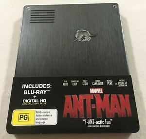 Ant-Man (2015) - JB Hi-Fi Steelbook Blu-Ray Region Free | Like-New | Marvel