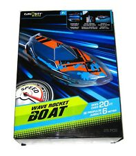 Curiosity Kits: Wave Rocket Boat 25pc Build Working Model Toy Gift Age 8+ NEW