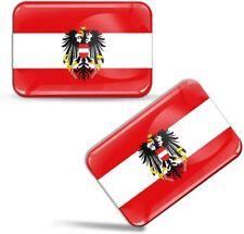 3D Aufkleber Österreich Österreichisch Adler Fahne Flagge Austria Flag Stickers
