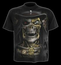 Spiral Steam Punk Reaper T-shirt Black XXL