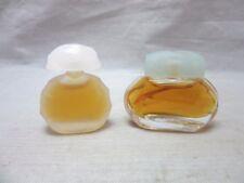 New listing 2x vintage miniature perfume bottles. Full. Houbigant, plus