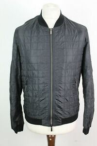 FENDI Black Light Bomber Jacket Chest Size 42""