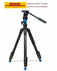 Benro Aero 2 A1883FS2C Travel Video Tripod Camera Tripod Converts To Monopod