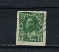 CANADA SCOTT 137 USED IMPERF SINGLE AND WELL CENTERED.