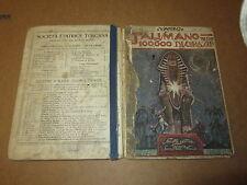 YAMBO IL TALISMANO DELLE 100000 DISGRAZIE ANNO 1928 SOC. EDITRICE TOSCANA