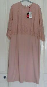 Pretty Pink dress from So Fabulous, Size 24 BNWT