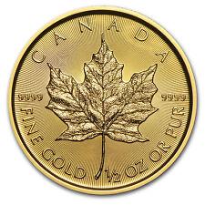 2017 Canada 1/2 oz Gold Maple Leaf BU - SKU #102788