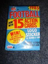 1985 Fleer Football Wax Pack Fresh From Box!