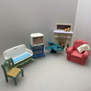 Fisher Price Loving Family Dream Dollhouse Furniture Lot