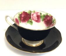 ROYAL ALBERT BONE CHINA TEA CUP AND SAUCER MADE IN ENGLAND OLD ENGLISH ROSE