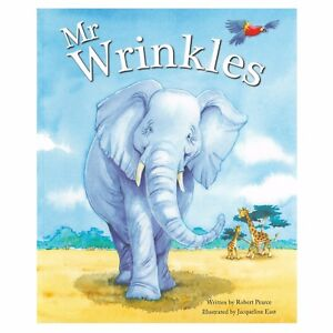 Quality Large Kids Childrens Bedtime Story Picture Reading Book - Mr Wrinkles