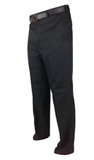 Mens Extra Long Leg Trousers by Carabou Smart Casual Office Wear 30-36 Formal Black 36 In.