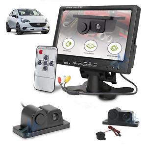 """Kit Retromarcia Monitor 7"""" e Retrocamera con Sensore di Parcheggio Integrato"""