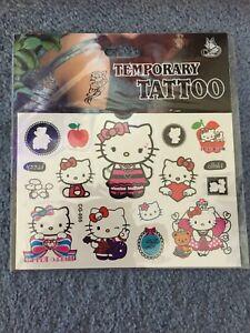 Hello Kitty Tattoo Peppa Pig Tattoo kids tattoos party supplies New