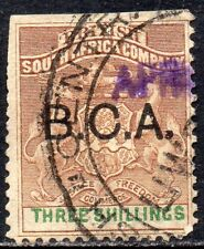 More details for 1895 british central africa sg 10 3s brown and green overprint fine used