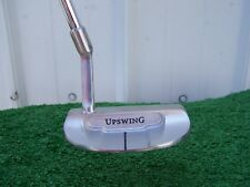 """Upswing Golf Mid Slant Mid Mallet Putter 35"""" Steel Shaft Putter NEW Right Hand"""