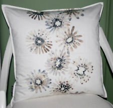 Kissen Dekokissen Kissenhülle Pauline 50x50 ecru natur Blüten in Pastell Proflax