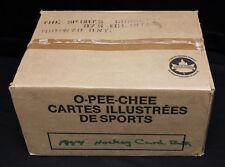1988-89 O-Pee-Chee Hockey Bulk/Cut Card Vending Case. Still Sealed. 8650 cards.