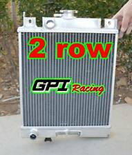 FIT SUZUKI SWIFT GTI 1.0 1.3 1.6 1989-1994 Manual MT aluminum Radiator