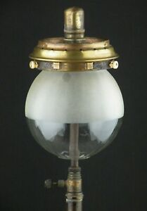 Inverted Gas Mantle Paraffin oil Glass Lamp Light Shade fits Tilley Table Lamps