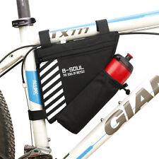 Bicicleta Impermeable Triángulo Bolsa De Almacenamiento Cuadro para Bicicleta de Montaña MTB Bolsa de Tubo Frontal