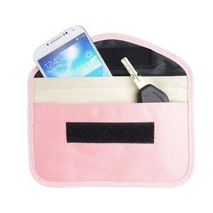 Pink Anti-Tracking RFID Blocker Anti-Radiation Wallet-iPhone 11 XR XS X 8 8+ 7 6