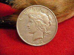 1923-P PEACE SILVER DOLLAR – 1923-P PEACE SILVER DOLLAR – 1923-P PEACE DOLLAR