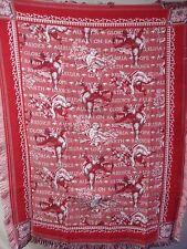 USA Made NWOT Hallelujah Angels Tapestry Throw Blanket Afghan #507