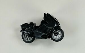 x1 NEW Lego Motorcycle Bike FOR CITY MINIFIGS Black