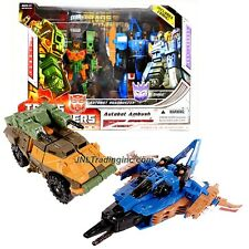 Year 2008 Transformers Universe G1 Exclusive AUTOBOT AMBUSH ROADBUSTER & DIRGE