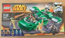 LEGO SET BOITE NEUF STAR WARS VAISSEAU 75091 FLASH SPEEDER AVEC GARDES DE NABOO