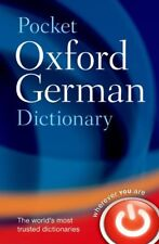 Pocket Oxford German Dictionary,Oxford Dictionaries