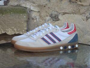 2011 Adidas Handball 5 Plug UK10 US10.5 Rare White Blue OG CW Vintage Originals