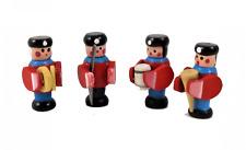 Poupées Maison Soldat Bande Ensemble 4 Traditionnel Garçons Toy 1:12 Accessoire