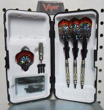Viper Darts 18 gm Silver Thunder Dart Board Soft Tip Dart Set W/25 Extra Tips