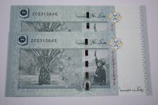 (PL) RM 50 ZC 0315645-46 UNC 1 ZERO MALAYSIA ZETI LOW NUMBER REPLACEMENT NOTE