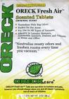 12 Oreck Fresh Air Tab Vacuum Cleaner Scent Tablets Deodorizing