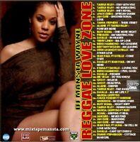 Dj Mansta Wayne - Reggae Love Zone Vol. 1 Mix CD