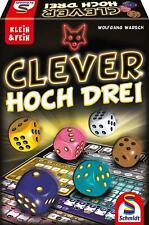 Schmidt Spiele Clever hoch DREI Würfelspiel der Serie Klein & Fein Nachfolger