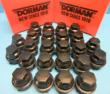 25 Wheel Nut Cover Replaces GM OEM# 9593028 for Buick Chevy GMC Pontiac Black