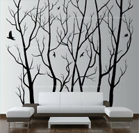Large Coconut Palm Trees Forest Vinyl Wall Art Decal Removable Sticker 1501