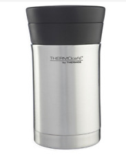 Genuine Thermos ThermoCafe Hot Food Flask enclosed  Spoon Stainless Steel 500 ml