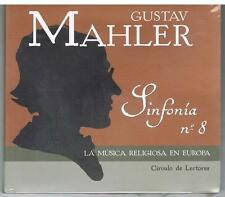 GUSTAV MAHLER - SINFONIA N°8 - La musica religiosa en Europa - 2005 CD SIGILLATO