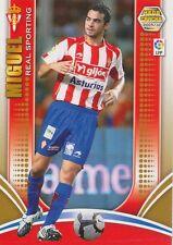 N°247 MIGUEL DE LAS CUEVAS # SPORTING GIJON CARD PANINI MEGA CRACKS LIGA 2010
