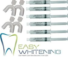 60ML KIT FOR 2 TOOTH WHITENING-HOME BLEACHING-*6X10ML*18% GEL*MADE IN USA*