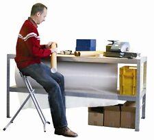 Packtisch/Arbeitstisch/Werktisch 2000x800 mm / INDUSTRIEQUALITÄT - NEU!