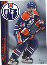 JORDAN EBERLE EDMONTON OILERS FATHEAD TRADEABLES 2013 REMOVABLE STICKER NHL #35