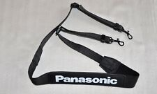 PANASONIC BLACK W37*20 mm GENUINE SHOULDER NECK STRAP FOR DSLR CAMERA NEW *PL1**